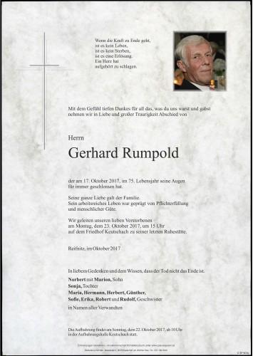 Gerhard Rumpold