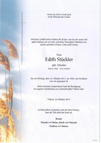 Edith Stückler