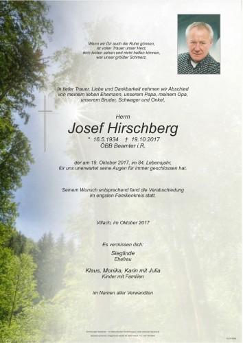 Josef Hirschberg