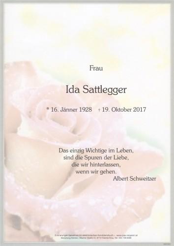 Ida Sattlegger