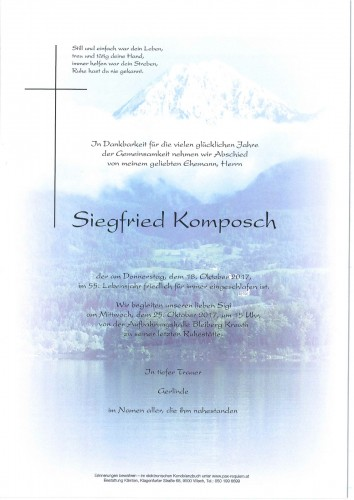 Siegfried Komposch