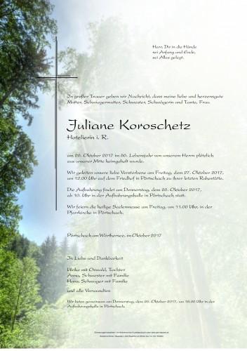 Juliane Koroschetz