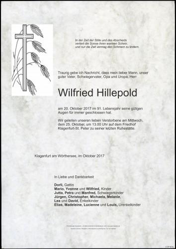 Wilfried Hillepold