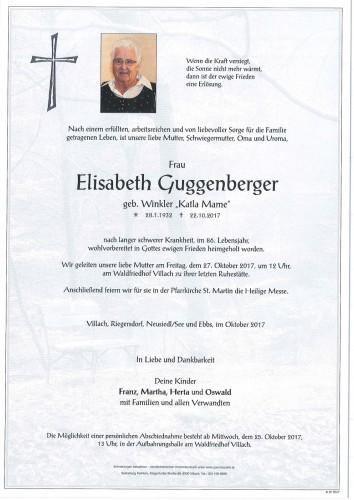 Elisabeth Guggenberger