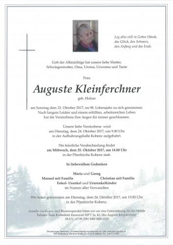 Auguste Kleinferchner