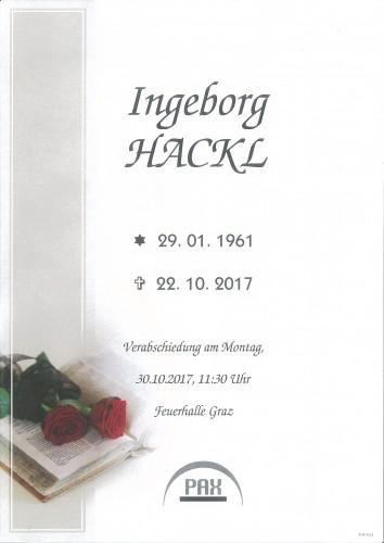 Ingeborg Hackl