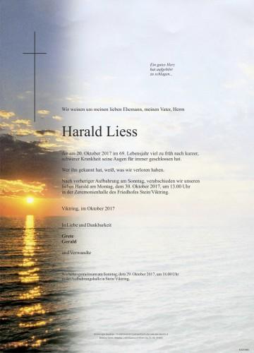 Harald Liess