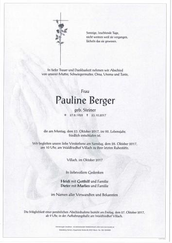 Pauline Berger