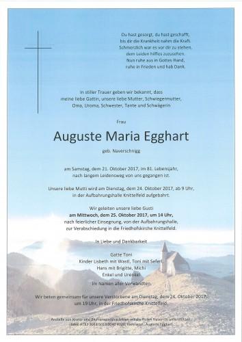 Auguste Egghart