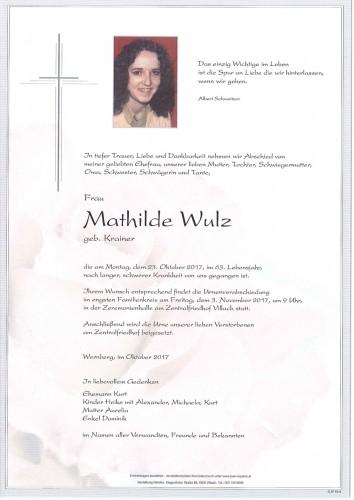 Mathilde Wulz