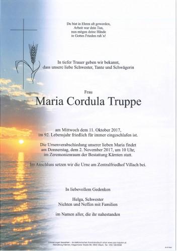 Maria Cordula Truppe