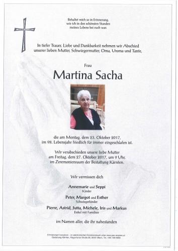 Martina Sacha