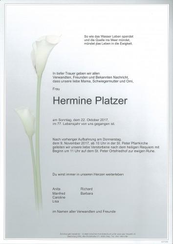 Hermine Platzer