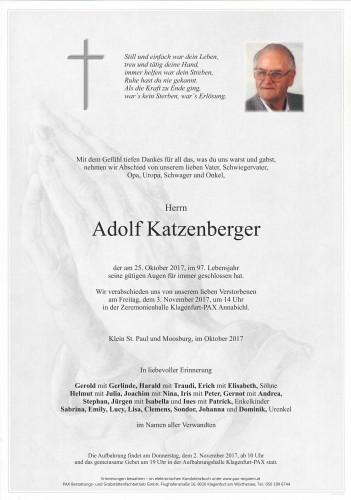 Adolf Katzenberger
