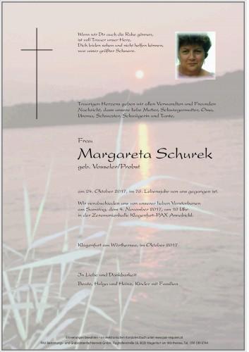Margareta Schurek
