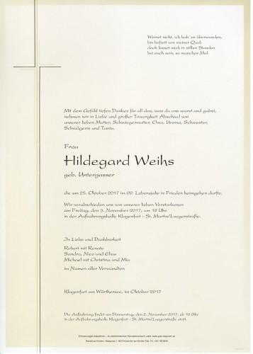 Hildegard Weihs