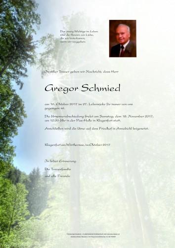Gregor Schmied