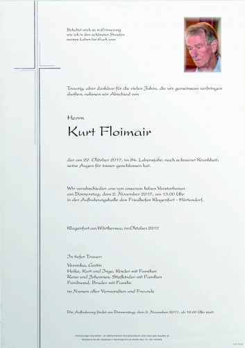 Kurt Floimair