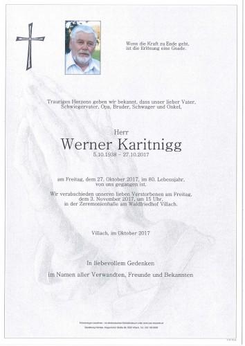 Werner Karitnigg