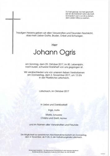 Johann Ogris