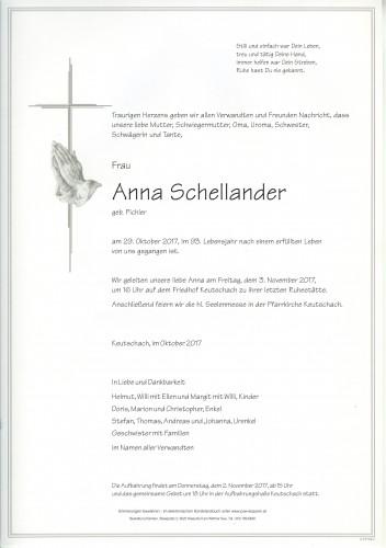 Anna Schellander