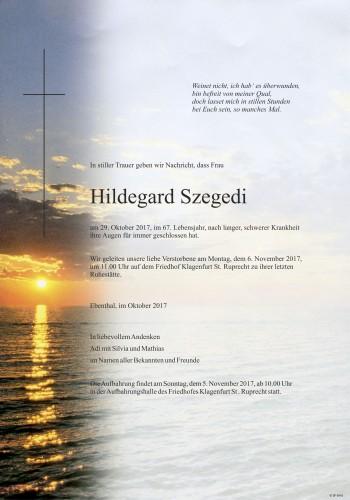 Szegedi Hildegard
