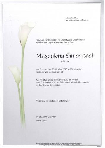 Magdalena Simonitsch