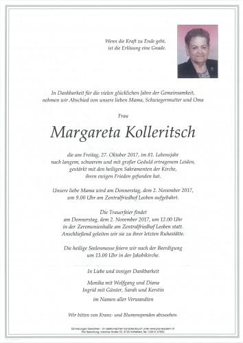 Margareta Kolleritsch