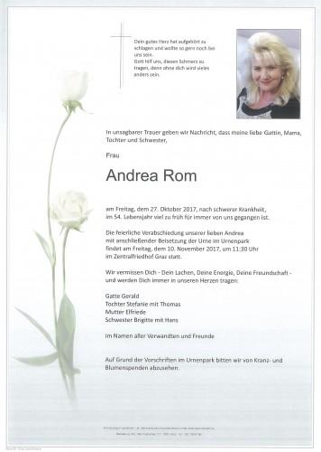 Andrea Rom