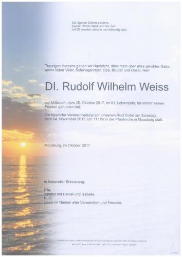 Dipl.-Ing. Rudolf Weiss