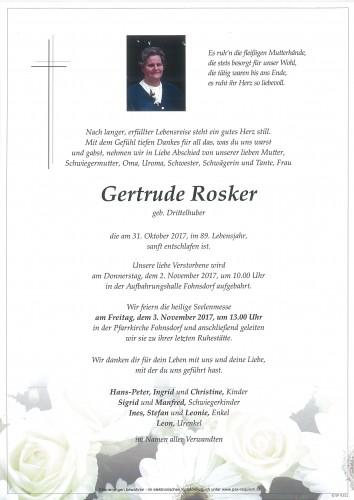 Gertrude Rosker