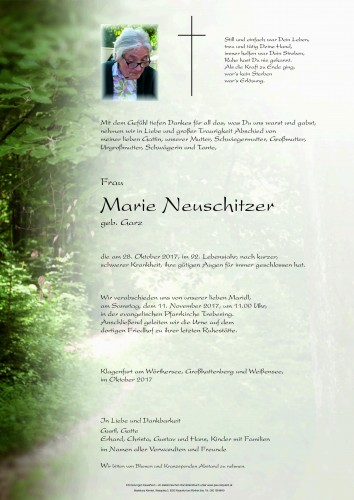 Marie Neuschitzer