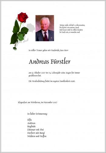 Andreas Fürstler