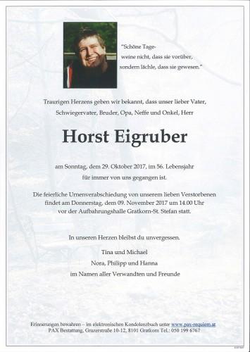 Horst Eigruber