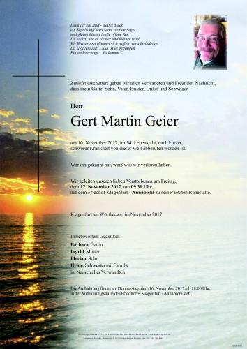 Gert Martin Geier