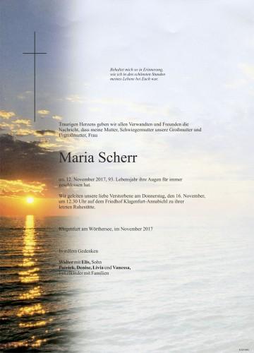 Maria Scherr