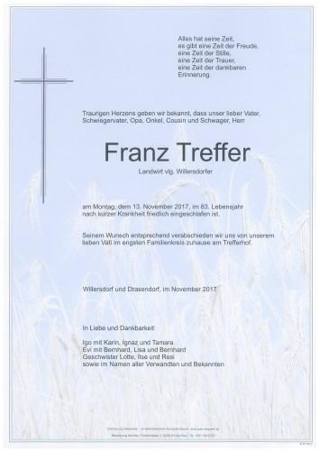 Franz Treffer