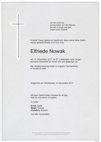 Elfriede Nowak