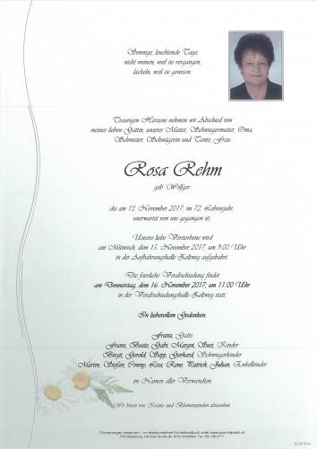 Rosa Rehm