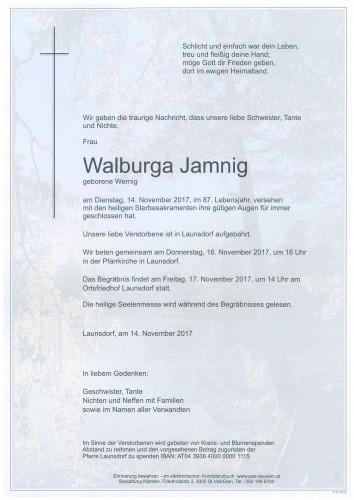 Walburga Jamnig