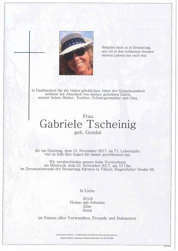 Gabriele Tscheinig