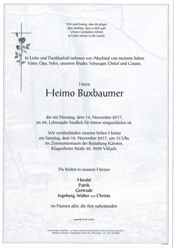 Heimo Buxbaumer