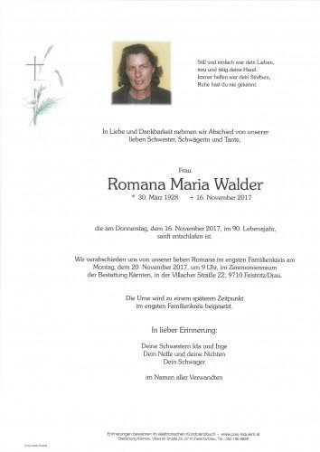 Romana Maria Walder