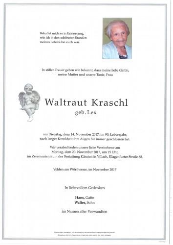 Waltraut Kraschl