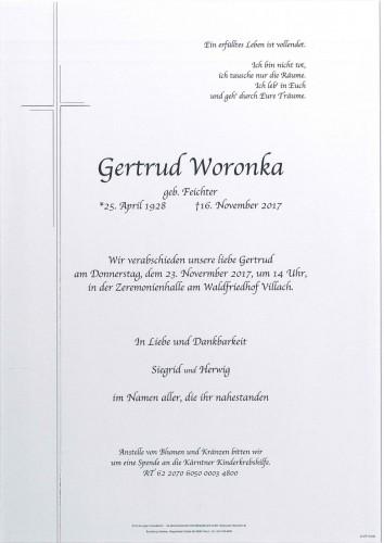 Gertrud Woronka