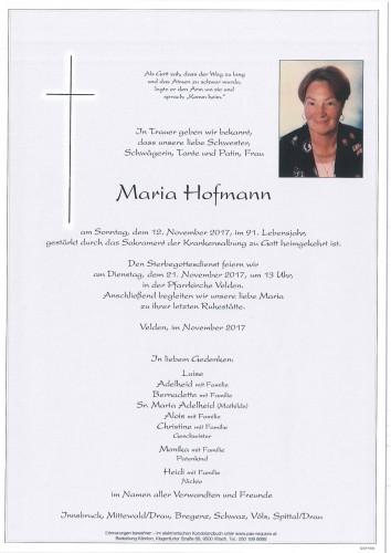 Maria Hoffmann