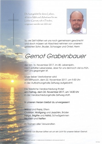 Gernot Grabenbauer