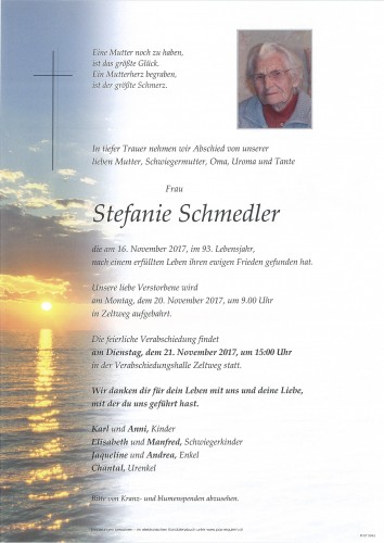 Stefanie Schmedler
