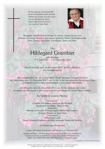 Hildegard Granitzer