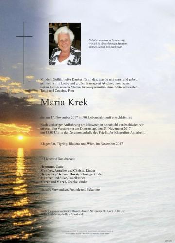 Maria Krek